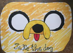 Foto de la obra de arte titulada Jake The Dog